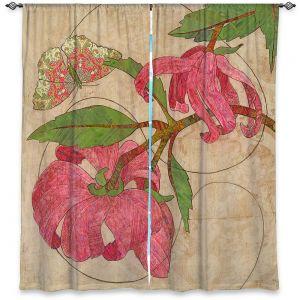 Decorative Window Treatments   Paper Mosaic Studio - Encircle   flower floral nature