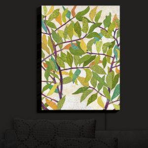 Nightlight Sconce Canvas Light   Paper Mosaic Studio - Happy Tree 2 Center