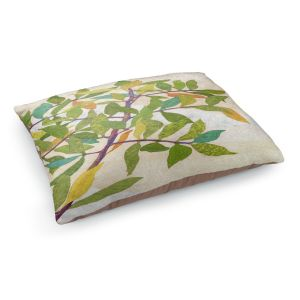 Decorative Dog Pet Beds | Paper Mosaic Studio - Happy Tree 2 Right | Nature branches leaves