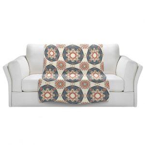 Artistic Sherpa Pile Blankets | Paper Mosaic Studio - Pattern A