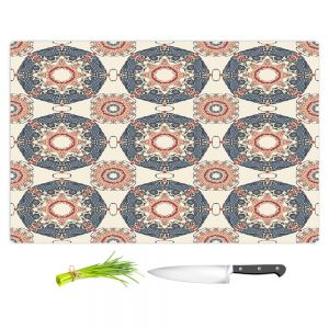Artistic Kitchen Bar Cutting Boards | Paper Mosaic Studio - Pattern A