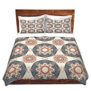 Artistic Duvet Covers and Shams Bedding | Paper Mosaic Studio - Pattern A
