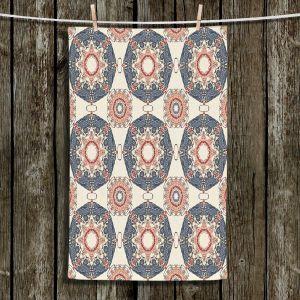 Unique Bathroom Towels | Paper Mosaic Studio - Pattern A