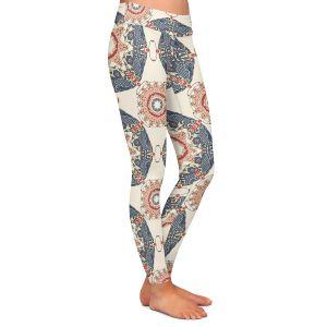 Casual Comfortable Leggings | Paper Mosaic Studio - Pattern A