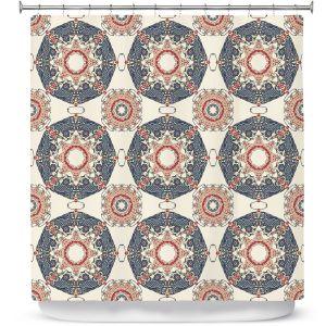 Premium Shower Curtains | Paper Mosaic Studio - Pattern A