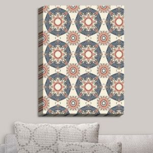 Decorative Canvas Wall Art | Paper Mosaic Studio - Pattern A | Patterns Shapes