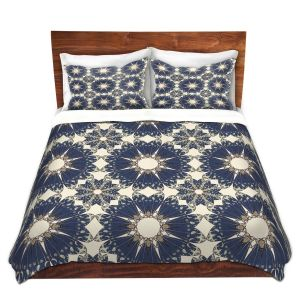 Artistic Duvet Covers and Shams Bedding | Paper Mosaic Studio - Pattern B