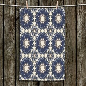 Unique Bathroom Towels | Paper Mosaic Studio - Pattern B