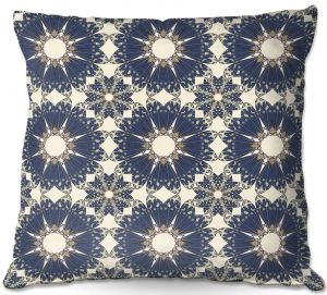 Decorative Outdoor Patio Pillow Cushion | Paper Mosaic Studio - Pattern B