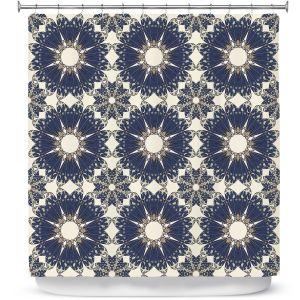 Premium Shower Curtains | Paper Mosaic Studio - Pattern B