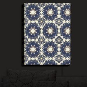Nightlight Sconce Canvas Light | Paper Mosaic Studio - Pattern B | Patterns Shapes