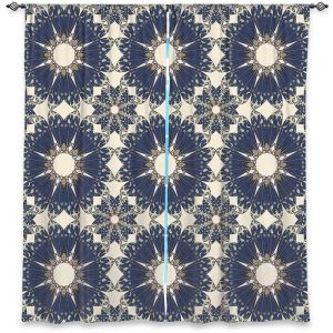 Decorative Window Treatments | Paper Mosaic Studio - Pattern B