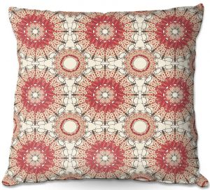 Decorative Outdoor Patio Pillow Cushion | Paper Mosaic Studio - Pattern C