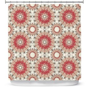 Premium Shower Curtains | Paper Mosaic Studio - Pattern C