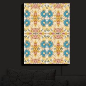 Nightlight Sconce Canvas Light | Paper Mosaic Studio - Pattern D | Patterns Shapes