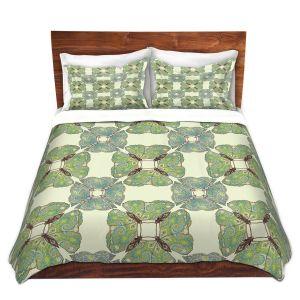 Artistic Duvet Covers and Shams Bedding | Paper Mosaic Studio - Pattern E