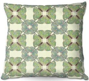 Decorative Outdoor Patio Pillow Cushion | Paper Mosaic Studio - Pattern E