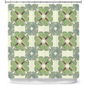 Premium Shower Curtains | Paper Mosaic Studio - Pattern E