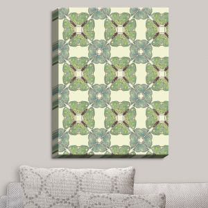 Decorative Canvas Wall Art | Paper Mosaic Studio - Pattern E | Patterns Shapes