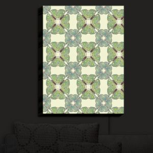 Nightlight Sconce Canvas Light | Paper Mosaic Studio - Pattern E | Patterns Shapes