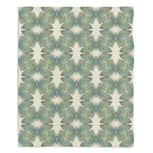 Decorative Fleece Throw Blankets | Paper Mosaic Studio - Pattern F