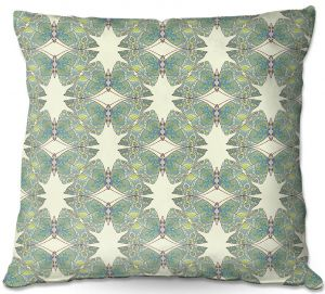 Decorative Outdoor Patio Pillow Cushion | Paper Mosaic Studio - Pattern F
