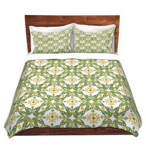Artistic Duvet Covers and Shams Bedding | Paper Mosaic Studio - Pattern G