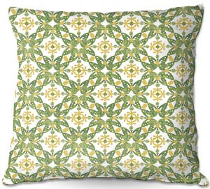 Decorative Outdoor Patio Pillow Cushion | Paper Mosaic Studio - Pattern G