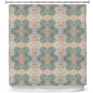 Premium Shower Curtains | Paper Mosaic Studio - Pattern K