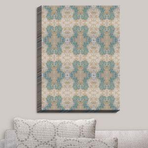 Decorative Canvas Wall Art | Paper Mosaic Studio - Pattern K | Patterns Shapes
