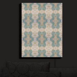 Nightlight Sconce Canvas Light | Paper Mosaic Studio - Pattern K | Patterns Shapes
