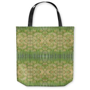 Unique Shoulder Bag Tote Bags | Paper Mosaic Studio - Pattern Moss Beige