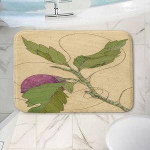 Decorative Bathroom Mats | Paper Mosaic Studio - Purple Flower