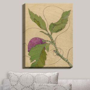 Decorative Canvas Wall Art | Paper Mosaic Studio - Purple Flower | Flowers Nature