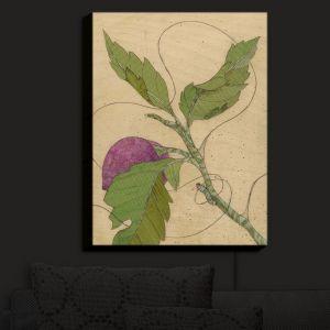Nightlight Sconce Canvas Light | Paper Mosaic Studio - Purple Flower | Flowers Nature