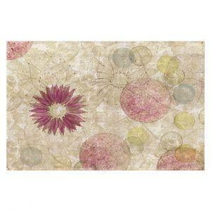 Decorative Floor Covering Mats   Paper Mosaic Studio - Reach   Nature floral bubble pattern