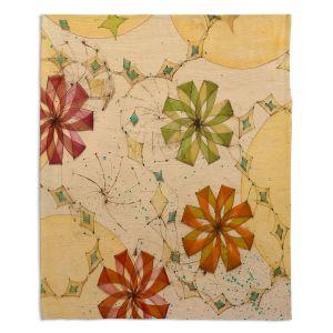 Decorative Fleece Throw Blankets | Paper Mosaic Studio - Release