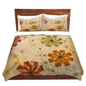 Artistic Duvet Covers and Shams Bedding | Paper Mosaic Studio - Release