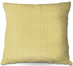 Throw Pillows Decorative Artistic | Paper Mosaic Studio - Tan Dots