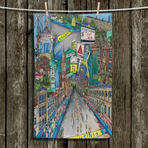 Unique Hanging Tea Towels | Patti Schermerhorn - Boston Strong