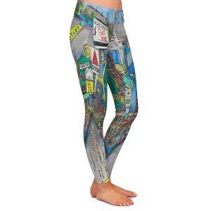 Casual Comfortable Leggings | Patti Schermerhorn - Boston Strong