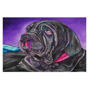 Decorative Floor Covering Mats   Patti Schermerhorn - Chillaxing Mastiff   Animals Dogs