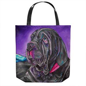 Unique Shoulder Bag Tote Bags | Patti Schermerhorn - Chillaxing Mastiff | Animals Dogs