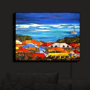 Nightlight Sconce Canvas Light | Patti Schermerhorn's Colors of St. Martin