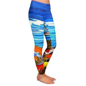 Casual Comfortable Leggings | Patti Schermerhorn Colors of St. Martin
