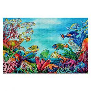 Decorative Floor Coverings | Patti Schermerhorn - Coral Reef