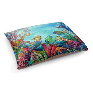 Decorative Dog Pet Beds | Patti Schermerhorn - Coral Reef