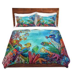 Artistic Duvet Covers and Shams Bedding   Patti Schermerhorn - Coral Reef