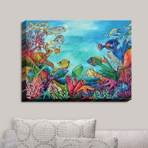 Decorative Canvas Wall Art | Patti Schermerhorn - Coral Reef