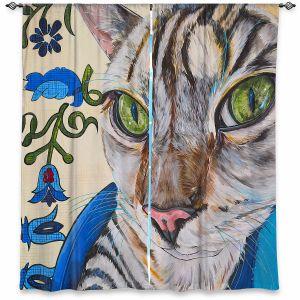 Decorative Window Treatments | Patti Schermerhorn - Diggy the Cat | Animals Cats